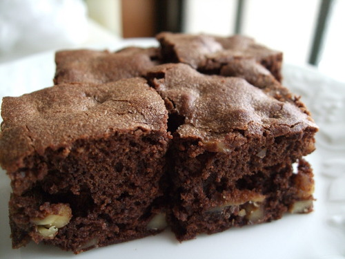 Brownies Loaded with Chocolate