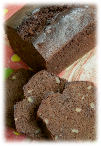 Rich Chocolate Pound Cake Valentine's Day