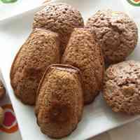 Walnut and Chocolate Madeleines