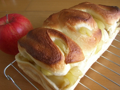 Honey Apple Bread