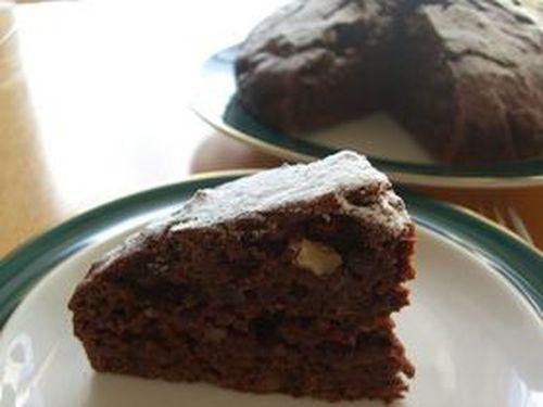 Snow Mountain Chocolate Cake