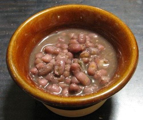Macrobiotic Adzuki Beans & Konbu Seaweed