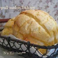 Crispy and Fluffy! Maple Melon Bread