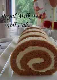 Royal Milk Tea Roll Cake