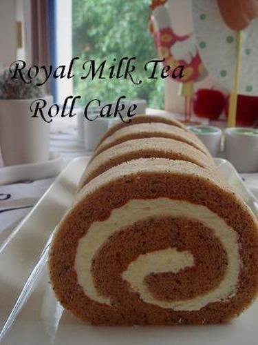 Royal Milk Tea Roll Cake
