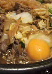 Easy Kansai-style Sukiyaki and with Udon