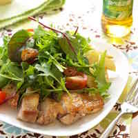 Sautéed Garlic Chicken Salad