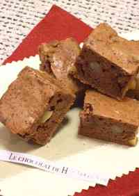 Chocolate Chestnut Brownies