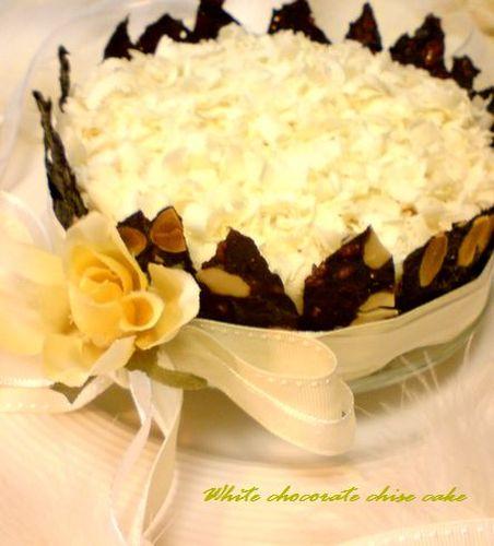 White Chocolate New York Cheesecake