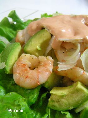 Shrimp and Avocado Salad With The Best-Ever Aurora Sauce