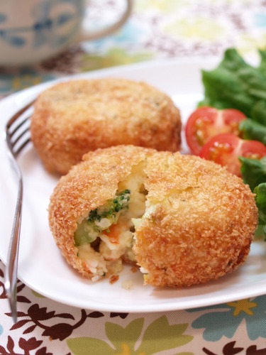 Shrimp and Broccoli Tartare Style Croquettes