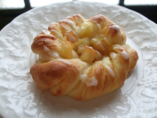 Custard Marble Bread