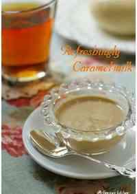Salty Caramel Milk Sauce