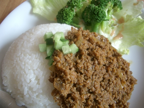 Simple Dry Curry