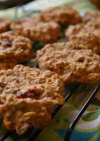 Soft Oatmeal Cookies (Macrobiotic & Vegan)