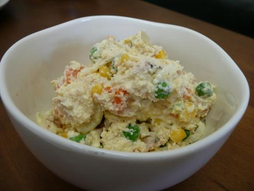 Okara Salad for Dieters