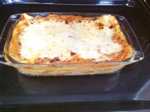 Lasagne with Lentils