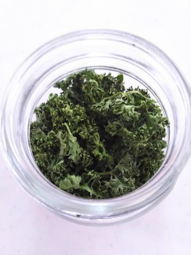 5 Minutes in the Microwave! Dried Parsley