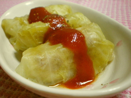 Simple Cabbage Rolls