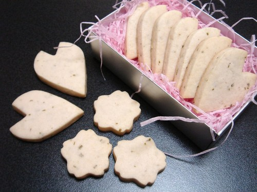 Sakura Petal Cookies