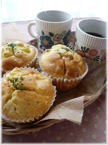 Spicy German Potato Muffins