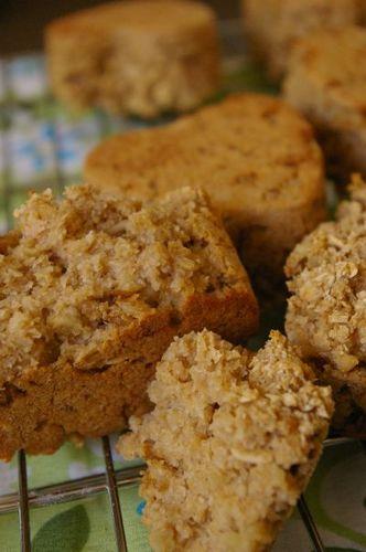 Wheat Bran Oatmeal Muffins (Macrobiotic)