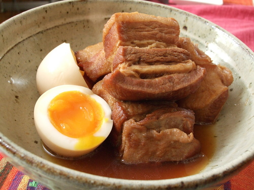 A Feast in Our House! Simmered Pork Belly (Buta no Kakuni)