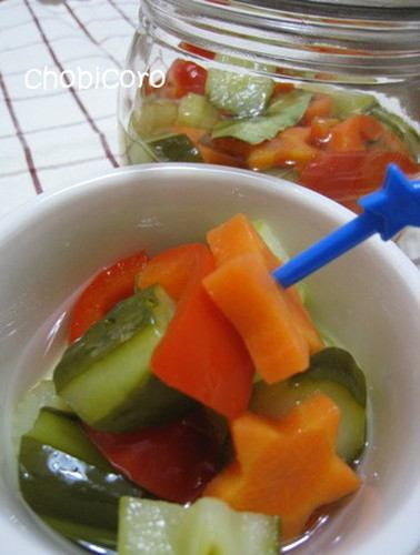 Easy Pickles with Sushi Vinegar