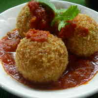 Naples Style Rice Croquettes (Arancini)