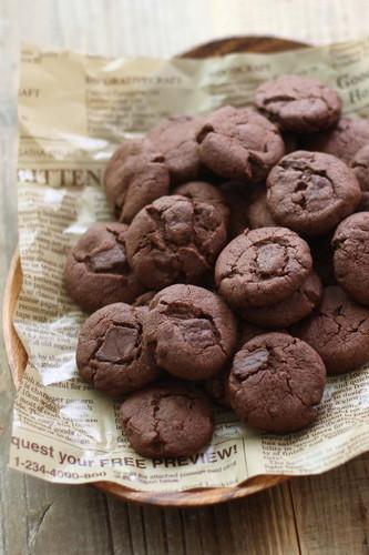 Crispy Chocolate Cookies
