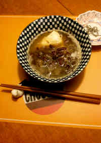 Mock Shiruko! With Kidney Beans