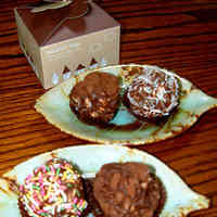 "Puffed Grain ""Ninjin"" Chocolate Truffles"