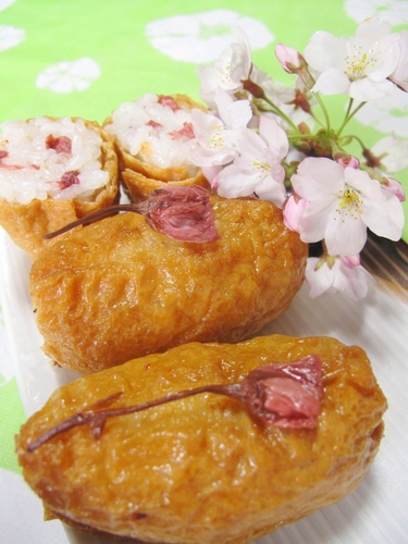 Inari Sushi for Cherry-blossom Viewing