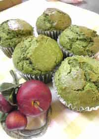 Kuroneko-san's Green Tea and Cream Cheese Muffins