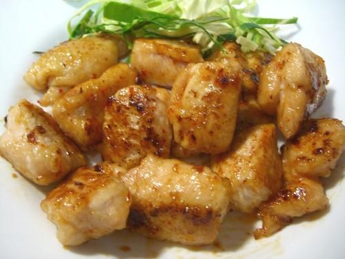 Chicken Breast Teriyaki in Chili-Mayonnaise Ponzu