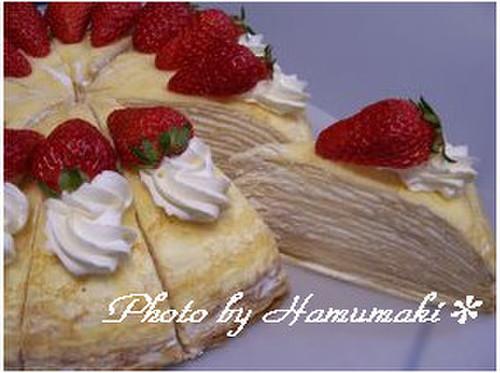 Layered Milk Crepe Cake