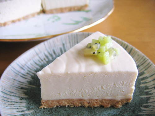 Very Rich No-Bake Cheesecake with Royal Milk Tea