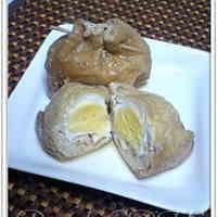 Abura-age and Egg Simmered Pouches (Kinchaku)