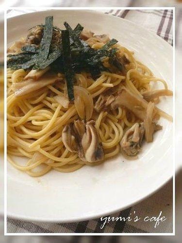 Easy Japanese-style Mushroom Spaghetti