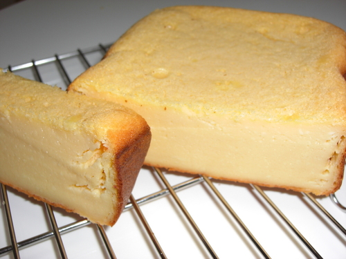 Made With Love in a Bread Machine! Rich Cheesecake