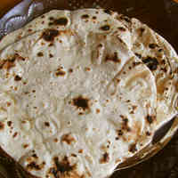 Flat Indian Bread: Chapati