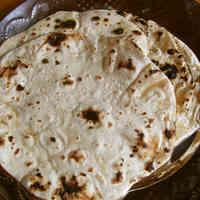 Flat Indian Bread: Chapati