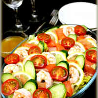 An Extravagant Salad For Guests