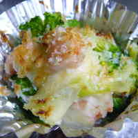 Gratin-style Baked Broccoli - Great for Bentos