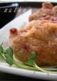 Fried Chicken Breast with Aurora Sauce