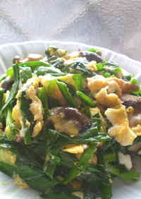 Try with Shiitake Mushrooms Stir-fried Pork with Garlic Chives and Eggs