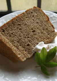 Moist and Airy Black Tea Chiffon Cake