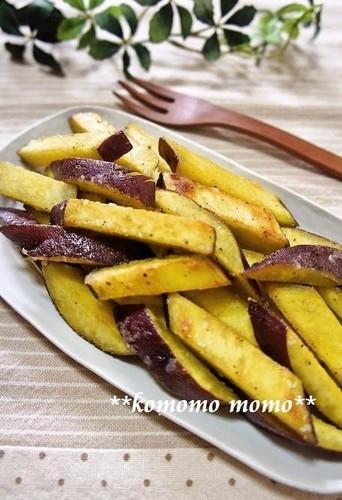 Butter-Fried Sweet Potatoes