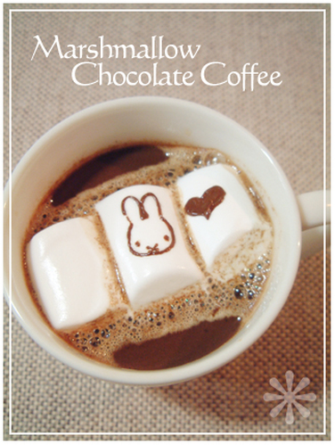 Marshmallow Chocolate Coffee