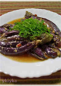Chilled and Refreshing Eggplant